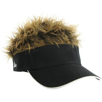 FlairHair Brown Hair Headwear Visor Apparel