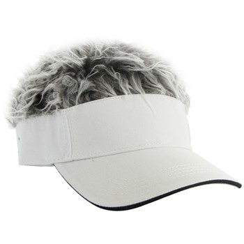 FlairHair Grey Hair Headwear Visor Apparel