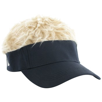 FlairHair Solid Tone Blonde Hair Headwear Visor Apparel