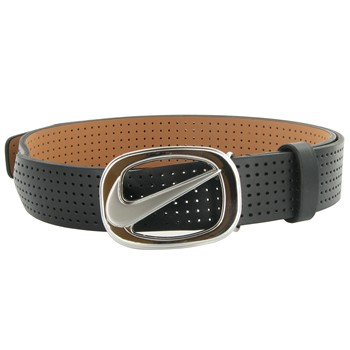 Nike Perforated Swoosh Cutout Accessories Belts Apparel