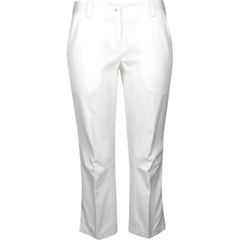 Nike Dri-Fit Modern Rise Tech Crop Pants Flat Front Apparel