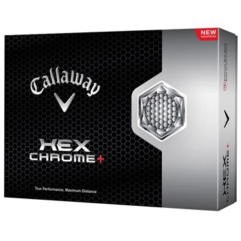 Callaway HEX Chrome+ Golf Ball Balls