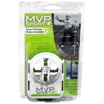 MVP Sport Smartphone Video Holster Swing Trainers Analyzers Golf Bag