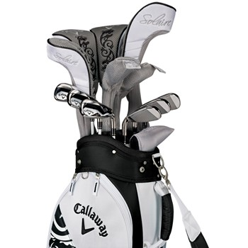 Callaway Solaire II 14-Piece Black Club Set Golf Club