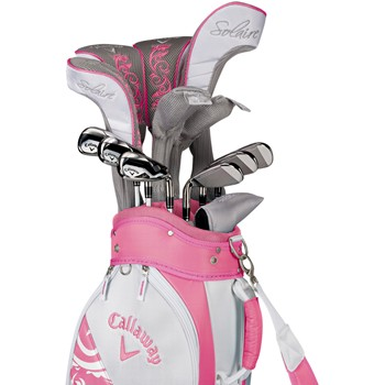 Callaway Solaire II 14-Piece Pink Club Set Golf Club