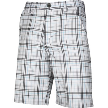 Under Armour UA Forged Plaid Shorts Flat Front Apparel