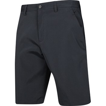 Ashworth Microfiber Mini Check Shorts Flat Front Apparel