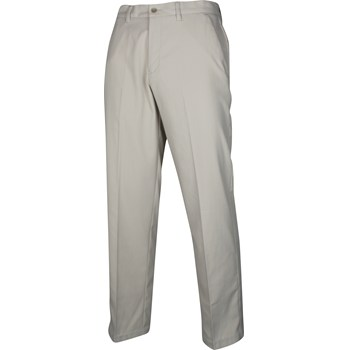 Ashworth Microfiber Herringbone Pants Flat Front Apparel