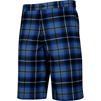 Nike Dri-Fit Golf Plaid Shorts Flat Front Apparel