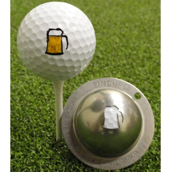 Tin Cup The 19th Hole Ball Marker Accessories