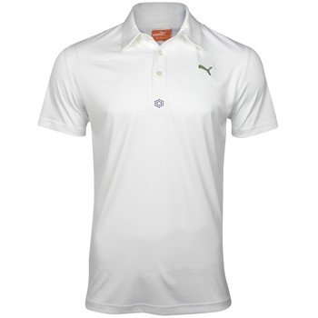 Puma Yoke Graphic Tech Shirt Polo Short Sleeve Apparel