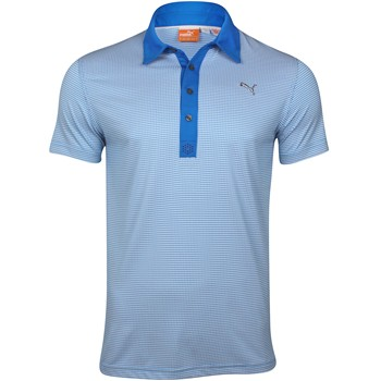 Puma Pattern Tech Shirt Polo Short Sleeve Apparel