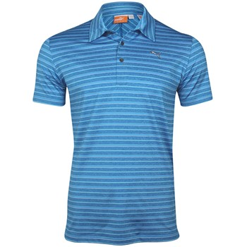 Puma New Barcode Stripe Shirt Polo Short Sleeve Apparel