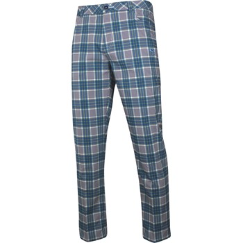 Puma Tech Plaid 5 Pocket Pants Flat Front Apparel
