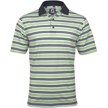 FootJoy Gulf Coast Stretch Lisle Stripe Shirt Polo Short Sleeve Apparel