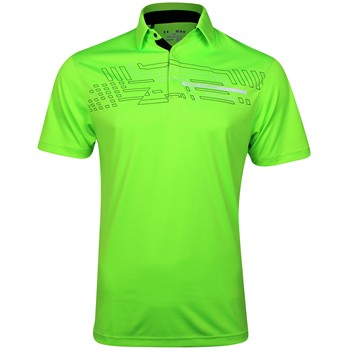 Under Armour UA Graphic Energy Stripe Shirt Polo Short Sleeve Apparel