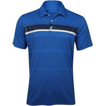 Adidas adizero Printed Stripe Shirt Polo Short Sleeve Apparel