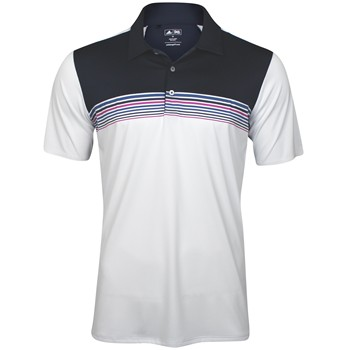 Adidas adizero Engineered Stripe Shirt Polo Short Sleeve Apparel