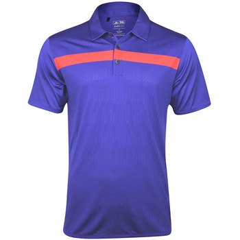 Adidas ClimaCool Jacquard Gradient Shirt Polo Short Sleeve Apparel