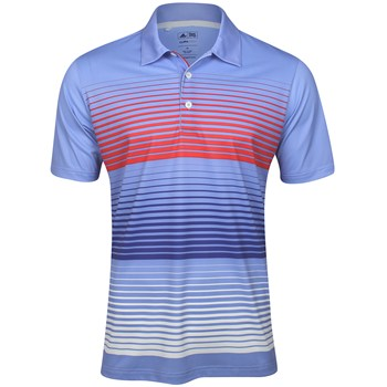 Adidas ClimaLite Bold Stripe Shirt Polo Short Sleeve Apparel