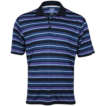 Adidas ClimaLite Multi Stripe Shirt Polo Short Sleeve Apparel