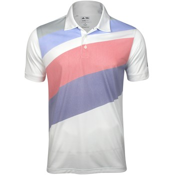 Adidas ClimaLite Angular Print Shirt Polo Short Sleeve Apparel