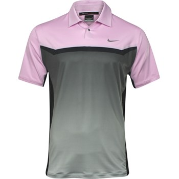 Nike TW Dri-Fit Designer Print Shirt Polo Short Sleeve Apparel