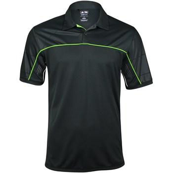 Adidas ClimaCool Graphic Diagonal Piped Shirt Polo Short Sleeve Apparel