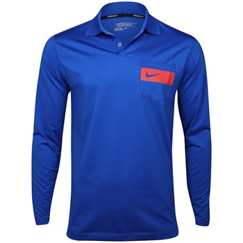 Nike Dri-Fit L/S UV Performance Shirt Polo Long Sleeve Apparel