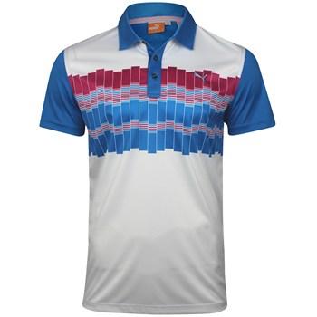 Puma Graphic Tech Shirt Polo Short Sleeve Apparel