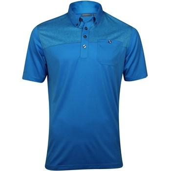 Ashworth EZ-TEC2 Performance EZ-SOF Pocket Print Shirt Polo Short Sleeve Apparel
