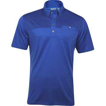 Ashworth EZ-TEC2 Performance EZ-SOF Pocket Print Shirt Polo Short Sleeve Apparel