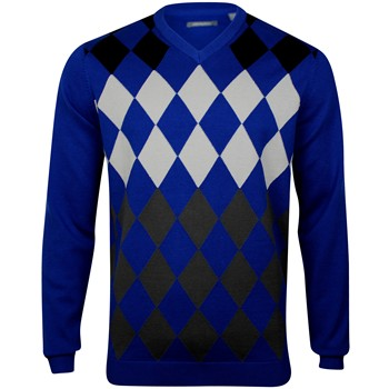 Ashworth Argyle Sweater V-Neck Apparel