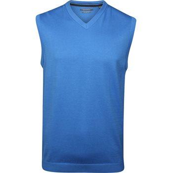 Ashworth Pima V-neck Sweater Vest Apparel