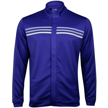 Adidas ClimaLite 3-Stripes Full Zip Outerwear Wind Jacket Apparel