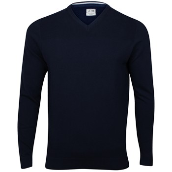 Adidas Textured Sweater V-Neck Apparel