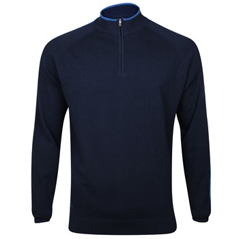 Adidas Half-Zip Slub Sweater Crew Apparel