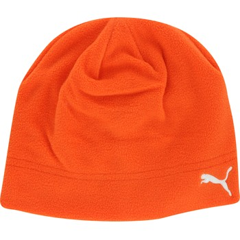 Puma Polar Fleece Beanie Headwear Knit Hat Apparel