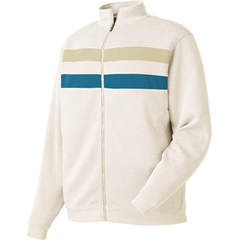 FootJoy Flat Back Rib Full-Zip Outerwear Pullover Apparel