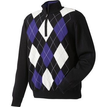 FootJoy Performance Lined Argyle Sweater Outerwear Pullover Apparel