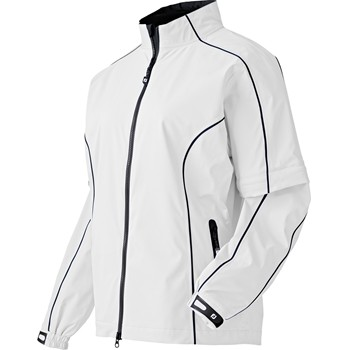 FootJoy DryJoys FJ Performance Zip-Off Sleeves Rainwear Rain Jacket Apparel