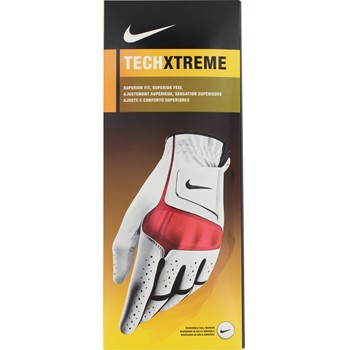 Nike Tech Xtreme Red Golf Glove Gloves