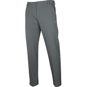 Puma Winter Weight Tech Pants Flat Front Apparel