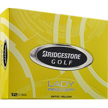 Bridgestone Lady Precept Yellow Golf Ball Balls