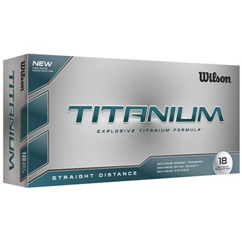 Wilson Titanium 18-Pack Golf Ball Balls