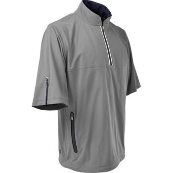 Sun Mountain RainFlex Short-Sleeve Half-Zip Outerwear Pullover Apparel