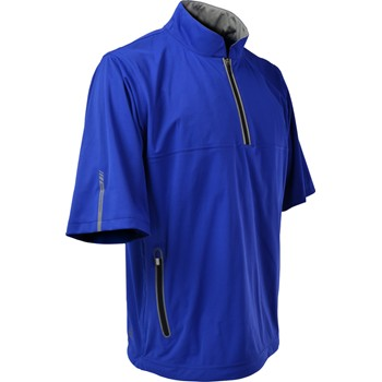 Sun Mountain RainFlex Short-Sleeve Half-Zip Outerwear Pullover Apparel