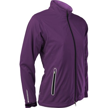 Sun Mountain RainFlex Waterproof Full-Zip Rainwear Rain Jacket Apparel