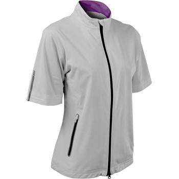Sun Mountain RainFlex Short-Sleeve Full-Zip Rainwear Rain Jacket Apparel