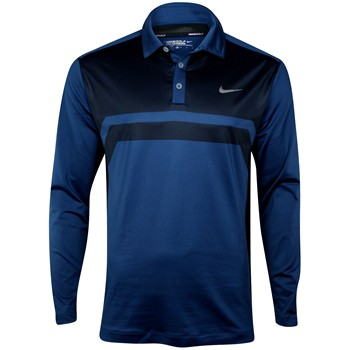 Nike Dri-Fit Warm Heather L/S Shirt Polo Long Sleeve Apparel